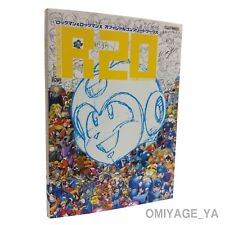 Megaman  R20 Rockman X Megaman Official Complete Works Illustration Art Book