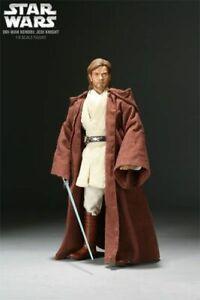 Sideshows Star Wars Obi Wan Kenobi Jedi Master 1/6 Scale Action Figure
