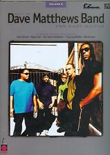 Best of Dave Matthews Band for Easy Guitar Vol. 2 with numbered tab and riffs