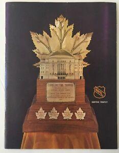 1968-69 Hockey Playoff  Oakland Seals vs LA Kings Program Game 2
