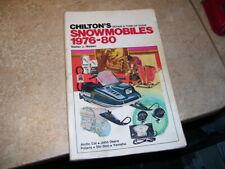 New ListingChilton's 1976-1980 Snowmobile Repair Manual