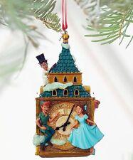 Disney Christmas Peter Pan And Darling Children Clock Ornament Decoration