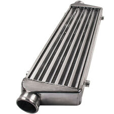 """Aluminum Turbo Intercooler 27 x 7 x 2.5 2.5"""" Inlet & Outlet Tube Fin Universal"""
