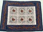 """47"""" x 36"""" New Rabari Throw Embroidery Ethnic Tapestry Tribal Wall Hanging"""