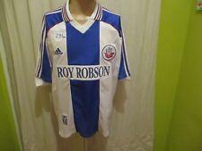 "FC Hansa Rostock Original Adidas Heim Trikot 1998/99 ""ROY ROBSON"" Gr.XL"