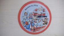 VOCO Records Cardboard Picture Record SANTA'S TOY SHOP 78RPM 1949