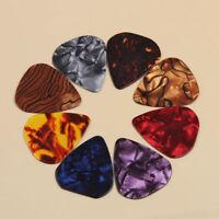 1Bag 0.46mm Colorful Celluloid Acoustic Electric Guitar Picks Heart Plectrums