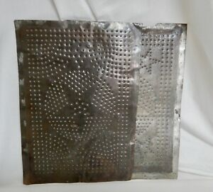 Antique Punched Tin Panels for Pie Safe - 83564
