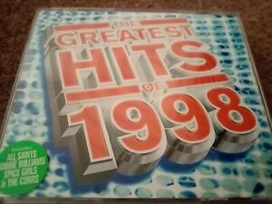 Various - The Greatest Hits Of 1998 (All Saints, Corrs, etc) Double CD Album