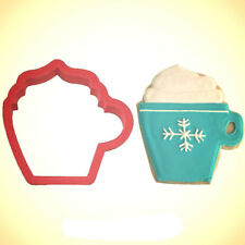 Coffee Cup Cookie Cutter 3.5 in PC0306 - By CookieCutter.Com - USA Made
