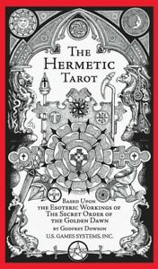 Includes instruction booklet, Detailed illustrations, Hermetic Tarot Deck