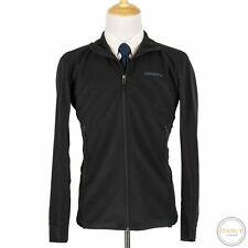Patagonia Onyx Black Microfiber Nylon Paneled Full Zip Unstructured Jacket M