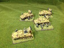 Flames of War German Panzerwefer 42 Platoon X4 Painted FOW