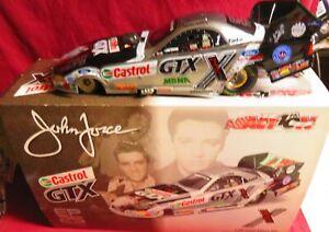 JOHN FORCE,  1/24 ACTION 2002 FUNNY CAR, ELVIS 25TH ANNIVERSARY--CASTROL GTX