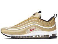 Genuine Nike Air Max 97 Ultra ® ( Men UK Sizes: 8 9 10.5 11 ) Metallic Gold BNIB