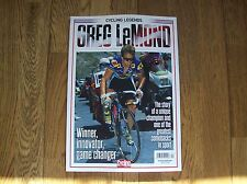 Cycling Legends Greg LeMond Issue 4 Cycling Weekly magazine.....Brand New