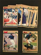 1996 Bowman Milwaukee Brewers Team Set 12 Cards Geoff Jenkins RC