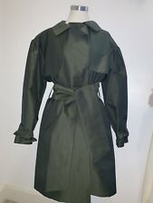 Charles Nolan Emerald Green TRENCH COAT M