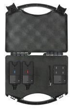 Spro Bissanzeiger C-TEC Run Arlarm 2+1 Blue/Red Funkbissanzeiger Set im Koffer