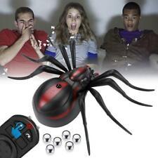 Halloween Prank Realistic Spider Horror Remote Control Climbing Animal Toy