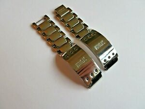 Storm Watch Band Watch Strap Wrist Metal Band Polished Steel 0 9/16in