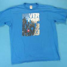 Men's THE NORTH FACE T Shirt Size XL Mens Never Stop Exploring TNF Logo Tee
