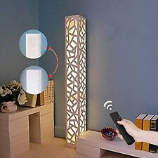 Modern Dimmable LED Floor Lamp Remote Control Bedroom Living Room Lighting