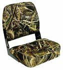 Wise Super Value Series Folding Boat Seat, Realtree Max 5 Camo