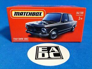 2020 MATCHBOX POWER GRABS 1969 BMW 2002 COUPE EADC