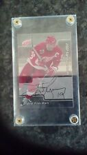 Steve Yzerman In The Game Autograph