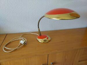 Schreibtischlampe Vintage 50er Jahre, stylisch, Schwanenhals