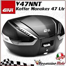MOTORRAD KOFFER TOP CASE 47 LTR GIVI V47NNT V47 TECH CARBON MONOKEY SYSTEM