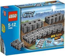 FREE SHIPPING | LEGO 7499 Lego City Flexible Train Tracks SEALED NEW NEU & OVP