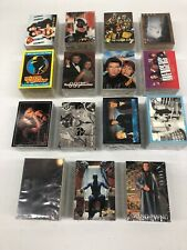 HUGE CARD LOT Of 15 NON SPORTS CARD SETS SUPER HEROES, SC-FI, ETC... COMPLETE