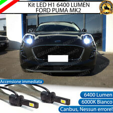 KIT LED H1 FORD PUMA MK2 6400 LUMEN ACCENSIONE IMMEDIATA 6000K ABBAGLIANTE