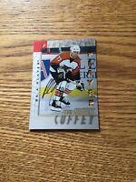 1998 Pinnacle NHL Paul Coffey (Philadelphia Flyers) Autographed card