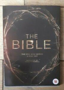 THE BIBLE - Complete Mini Series - 4 Discs - 2013 20ThC/Fox - Region 2 Dvd - Vgc