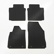 2014-2018 Chevrolet Impala Front & Rear All Weather Floor Mats 22759780 Black OE