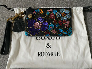 Coach Rodarte Beautiful Sequin Clutch Bag Nwot