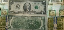 2 DOLLAR Bills 10 sequentially numbered CRISP TWO DOLLAR Bills USA Lot of Ten $2