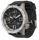 Hazard 4 Uhr Heavy Water Diver - BlackTie White GMT Grün/ Gelb
