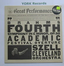 60165 - BRAHMS - Symphony No 4 SZELL Cleveland Orchestra - Ex Con LP Record