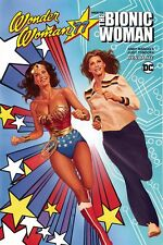 WONDER WOMAN '77 MEETS THE BIONIC WOMAN TRADE PAPERBACK ALEX ROSS COVER