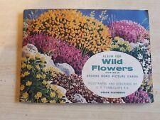 WILD FLOWERS. BROOKE BOND TEA. COMPLETE SET IN FULL ALBUM.   (EPH)