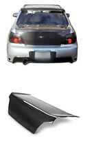 Real Carbon Fiber Trunk Lid Bootlid Tailgate For Subaru impreza WRX STI 02-07 06