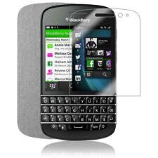 Skinomi Brushed Aluminum Phone Skin+Screen Protector Cover for BlackBerry Q10