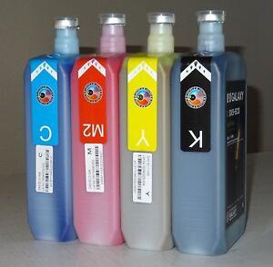 Eco solvent Ink DX4 DX5 DX7 Printhead, Mimaki, Roland, Mutoh, CMYK SET, FAST USA