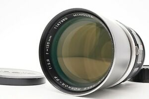 [Near MINT] MINOLTA MC Tele ROKKOR-PF 135mm f/2.8 MF Lens For SR Mount Japan