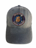 Devil's Tower Monument Adjustable Curved Bill Strap Back Dad Hat Baseball Cap