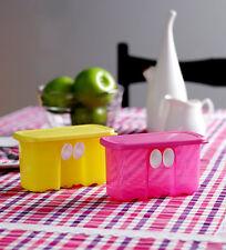 Brand NEW TUPPERWARE FRIDGESMART MINI (Set of 2) - Yellow & Pink